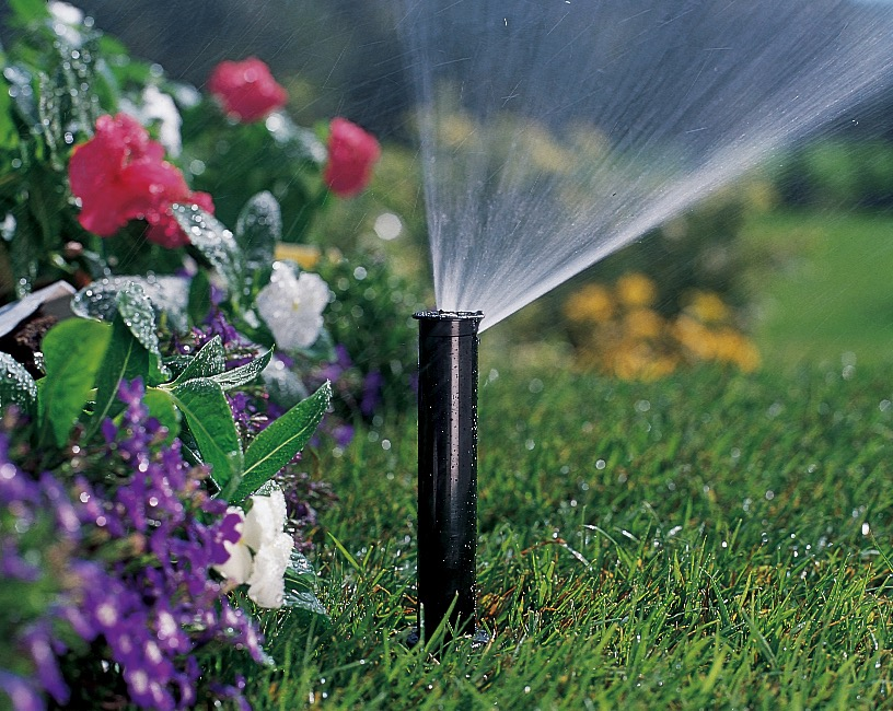 lawn sprinkler system start-up and activation service