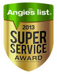 SeasonGreen won Angie's list Super Service Award