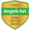 SeasonGreen won Angie's List Super Service Award in 2015